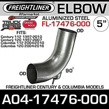 Freightliner Exhaust Exhaust Elbow Replaces Freightliner A04-17476-000