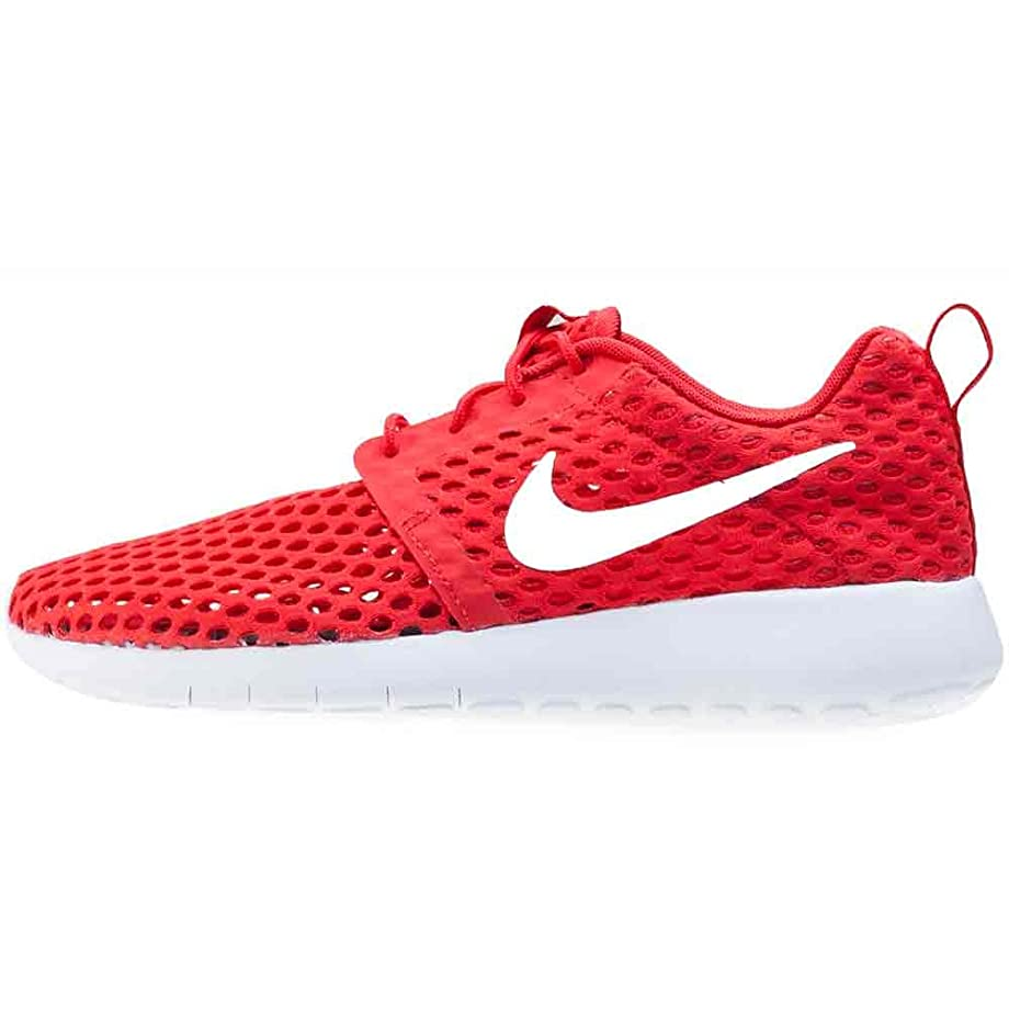Nike Boys -  Nike Roshe One Flight Weight Breathe Casual Shoes in University Red/White