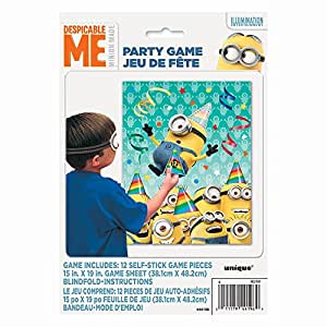 Amazon.com: Despicable Me Minions Party Game for 12: Toys ...