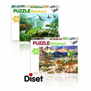 Diset 63701 - Dinosaurios 150 piezas, surtido: 2 modelos (1 unidad)