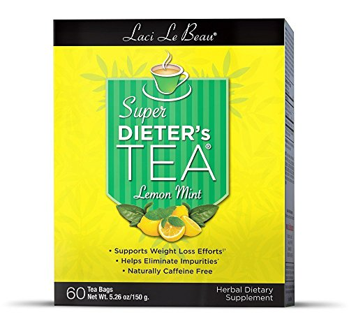 Laci Le Beau Super Dieter's Tea Lemon Mint - 60 Tea Bags Laci Le Beau Super Dieters Tea