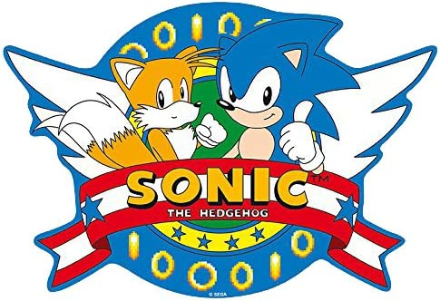 Amazon Com Sonic Mousepad Opening Logo Office Products
