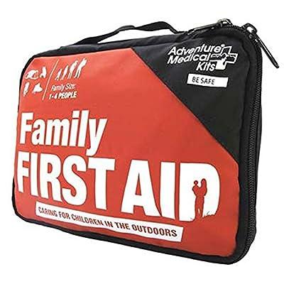 Adventure Medical Kits Adventure First Aid, Water-Resistant First Aid Kit, 0.18 Pound by Adventure Medical Kits