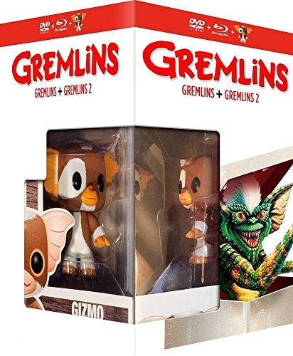 Gremlins / Gremlins 2 - 2-Disc Box Set & Gizmo FUNKO Figurine ( Gremlins / Gremlins Two: The New Batch ) (Blu-Ray & DVD Combo) [ Blu-Ray, Reg.A/B/C Import - France ]