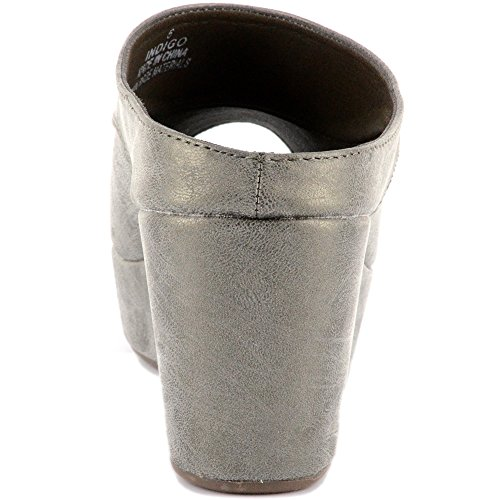 Corkys Indigo Womens Sandal Brushed Pewter N8rjWpyHa