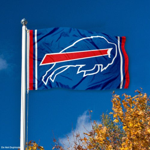 f93368330e6 Amazon.com   WinCraft Buffalo Bills Large NFL 3x5 Flag   Sports Fan Outdoor  Flags   Sports   Outdoors