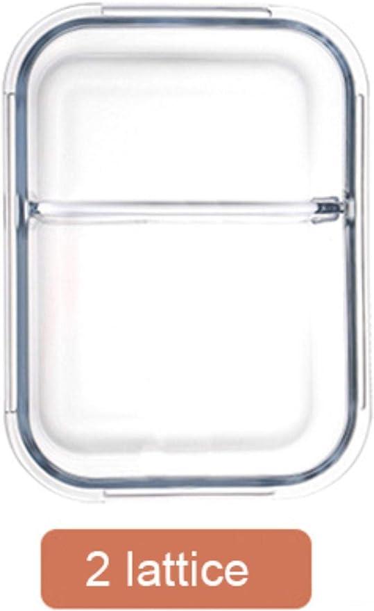LINCH Caja de Almuerzo Estilo Coreano Vidrio Microondas Bento Box ...