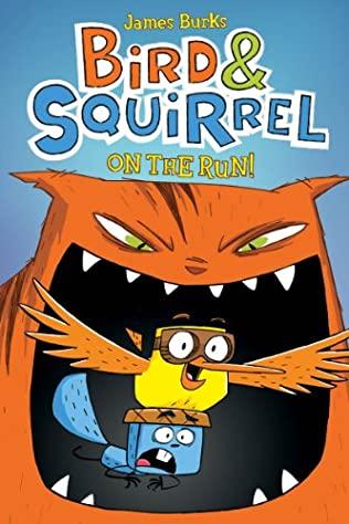 book cover of Bird & Squirrel on the Run