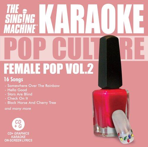 Karaoke: Female Pop 2 (Female Artists Cd)