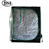 Quictent Ⅱ 48″x24″x60″ Upgraded Reflective Mylar Hydroponic Grow Tent for Indoor Plant Growing, EN71-3 Approved Cover, Eco-friendly!