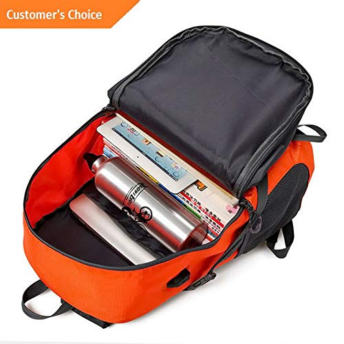 Amazon.com: Kaputar Anti-Theft Men Women Travel Backpack ...