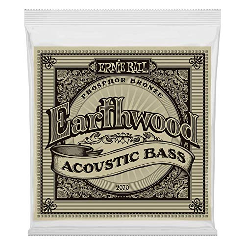 Acoustic Strings Bass 4 - Ernie Ball Earthwood Phosphor Bronze Acoustic Bass Set .045 - .095