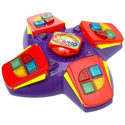 Mattel Uno Blitzo Electronic Game: Toys & Games