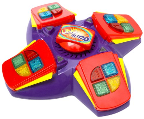 Uno Blitzo Electronic Game by Mattel by Mattel