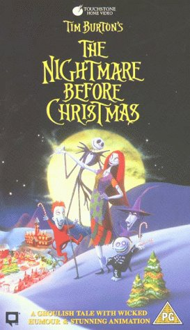 The Nightmare Before Christmas [VHS] [1994]: Danny Elfman, Chris ...