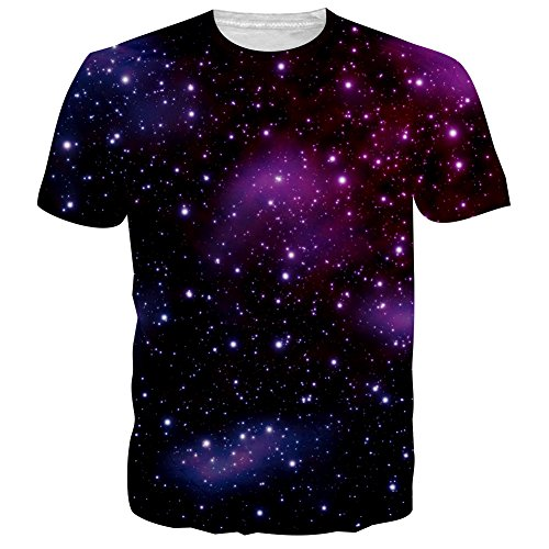 BFUSTYLE Unisex Galaxy Casual T Shirt product image