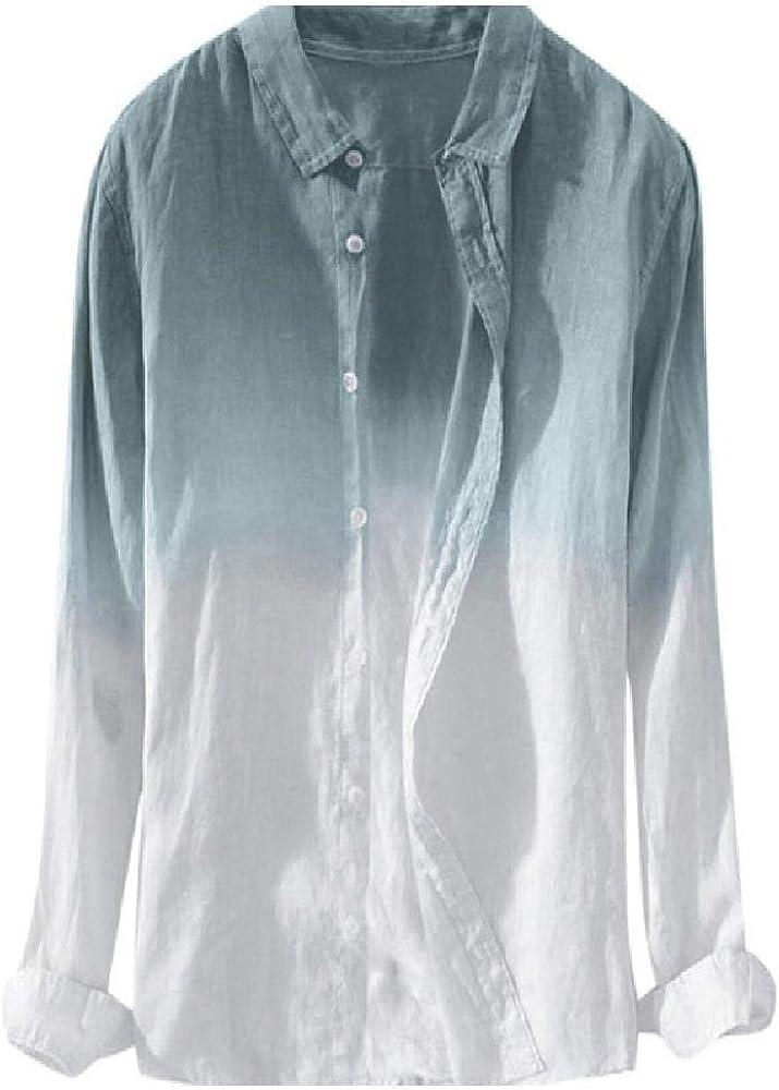 NOBRAND - Camisa casual de verano para hombre, manga larga, diseño de ciudad cerrada, color negro: Amazon.es: Ropa y accesorios