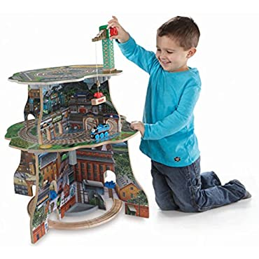 Fisher-Price Thomas Wooden Railway Up and Around Sodor Adventure Tower (BDG69)