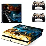FINAL FANTASY XV Stylish Design VINYL SKIN DECAL for PS4 standard