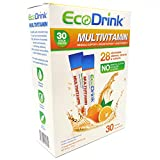 Our product review for EcoDrink Complete Multivitamin & Minerals Drink Mix - Orange - 30 Refill Pack, No Bottle