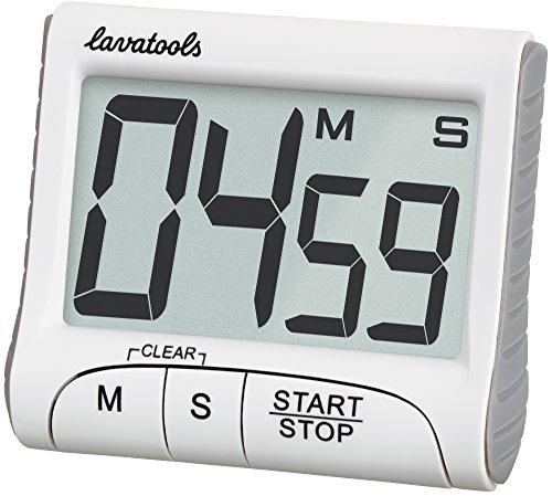 Lavatools KT1 Digital Kitchen Timer & Stopwatch