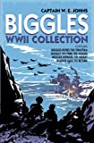 Front cover for the book Biggles Defies the Swastika by W. E. Johns