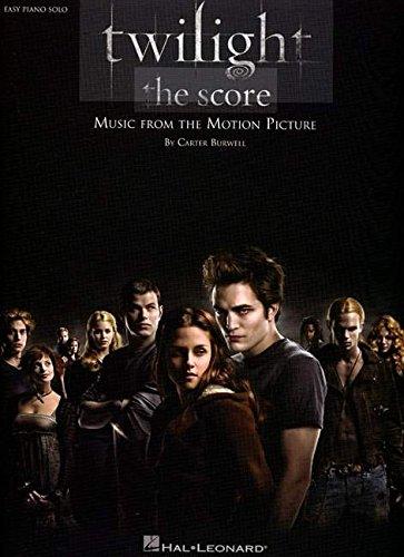 Twilight - The Score: Easy Piano Solo - Twilight Piano Sheet Music