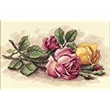 Dimensions Needlecrafts Counted Cross Stitch, Rose Cuttings