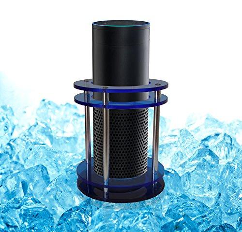 Acrylic Speaker Guard For Amazon Echo Plus Clear Blue