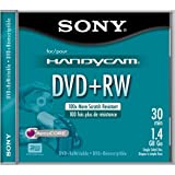 Sony 8cm DVD+RW with Hangtab - Single