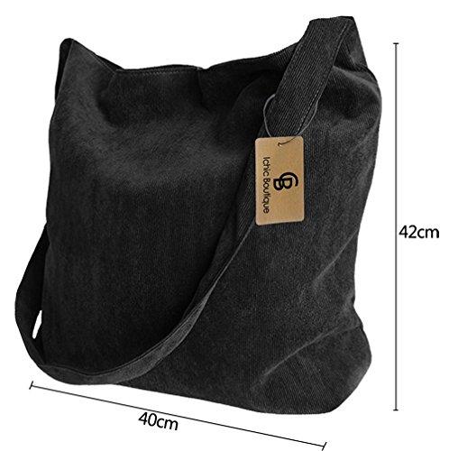 Bag Satchel Tote Crossbody Black Bag Bookbag Shopper Messenger Womens Shoulder gSTqZ1Z