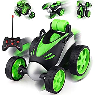EpochAir Remote Control Car - Rc Stunt Car for Boy Toys, 360 Degree Rotation Racing Car, Rc Cars Flip and Roll, Stunt Car Toy for Kids