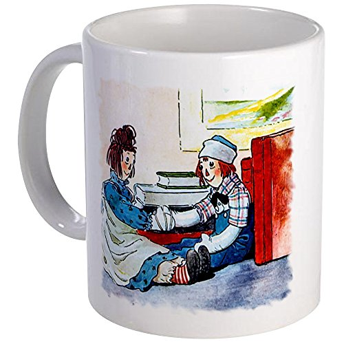 CafePress - Raggedy Ann & Andy Mug - Unique Coffee Mug, Coffee Cup