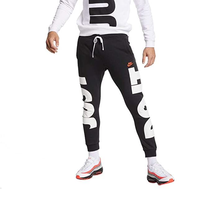 Nike Mens Sportswear Just Do It+ Jogger Sweatpants Black ...
