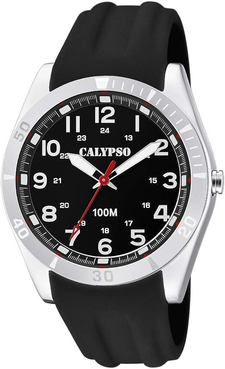 Calypso Watches Reloj Analógico para Unisex Adultos de Cuarzo con Correa en Plástico K5763/2