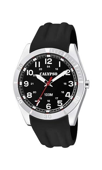 Calypso Watches Reloj Analógico para Unisex Adultos de Cuarzo con Correa en Plástico K5763/2: Calypso: Amazon.es: Relojes