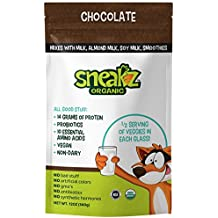 Sneakz Chocolate Vegan Protein Powder and Drink Mix (10 Servings)