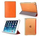 iPad Mini Case - Bear Motion for iPad Mini - Premium Folio Case with Stand for Apple iPad Mini 1 (Support Smart Cover Function) - NOT For iPad mini 2 or iPad mini 3 - Orange
