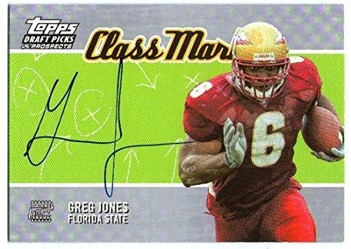 GREG JONES 2004 Topps Draft Picks & Prospects Rookie Autograph Auto On Card ()