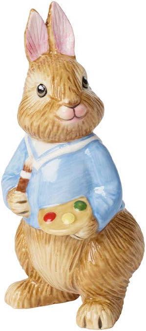 Villeroy /& Boch Bunny Tales Anna Grande figurine en porcelaine pour table de f/ête Rose//marron 10,5 x 11 x 22 cm