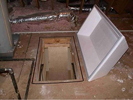 Attic Stair Insulating Cover Magnetically Sealing Your Stairs: Thermalid II