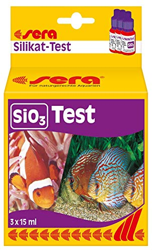(Sera Silicate-Test (SiO3) 15 ml, 0.5 fl.oz. Aquarium Test Kits)