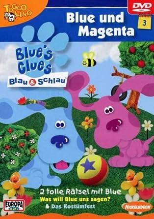 Blues Clues 3 Blue Und Magenta Amazonde Blues Clues 3 Dvd