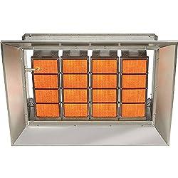 SunStar Natural Gas Heater Infrared Ceramic, 155000 BTU