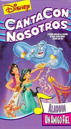 Amazon Com Canta Con Nosotros Aladin Un Amigo Fiel Disney S