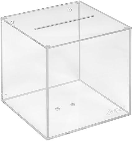Votaciones de acrílico cristal en 150 x 150 x 150 mm – zeigis ...