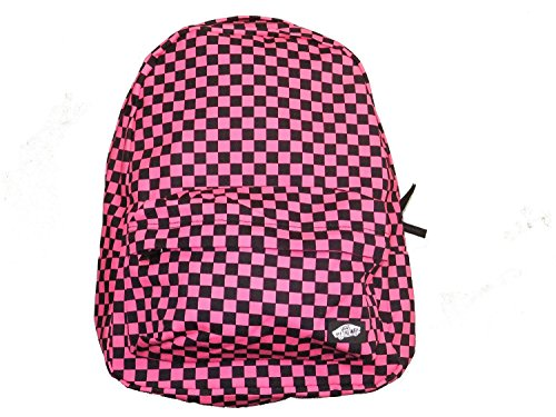 black and pink vans backpack