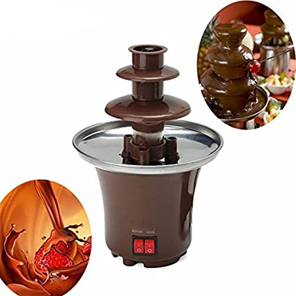 Buy Connectwide Chocolate Pro 3 Tier Chocolate Fountain This Will
