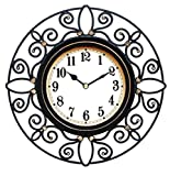 Wee's Beyond 2827-BLK Arts Clock, 10″ For Sale