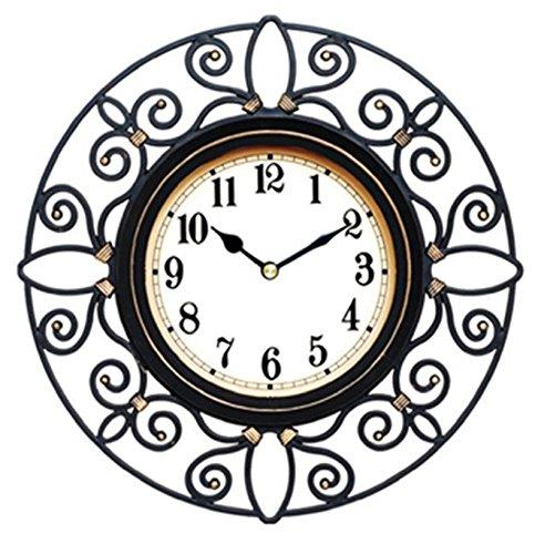 Wall Clock Quiet Sweep Second Hand Non Ticking Technology Hand Quartz Movement